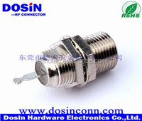 F Female Straight PC Mount Type RF Connector