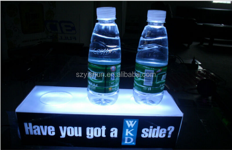 hot sale NEW led bottle display