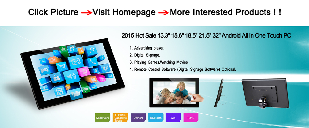 Leading 15 Touch Screen Tablet PC With Capacitive Touch All In One PC
