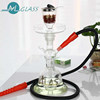 New design high borosilicate portable glass hookah shisha with gift package hookah 288