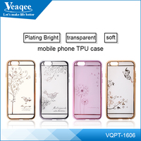 Veaqee New for iphone 4 5 6 6s custom design pc case with printing