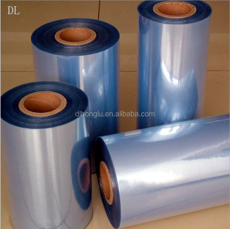 Soft and rigid PVC Material film / pvc cling film / PVC shrink film