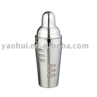 double wall stainless steel shaker