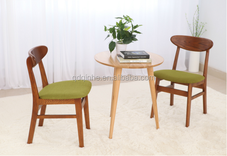 top sale solid wood ash chair dining room soft comfortable chair wooden indoor furniture
