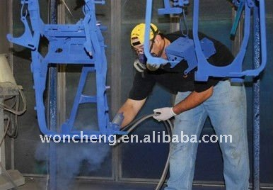 building powder coating