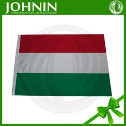 Wholesale Cheap Polyester Outdoor Flying Red White Green Hungary Flag