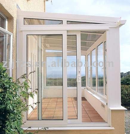 pvc balkon schiebet r t r produkt id 255328297. Black Bedroom Furniture Sets. Home Design Ideas