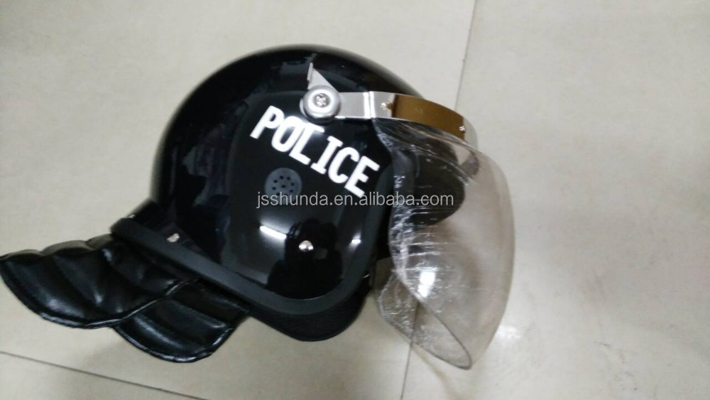 ABS shell anti-riot helmets for whole head protection