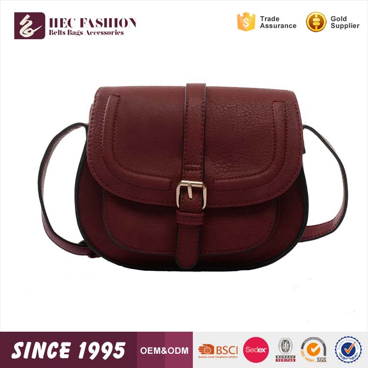 HEC 2016 Fashion Trend Woman Leather Shoulder Bag <strong>Handbag</strong> Made In Wenzhou