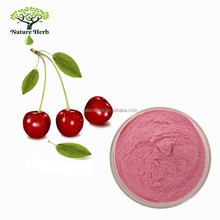 100% Water Soluble Acerola Cherry Extract Powder 17% 25% Vitamin C