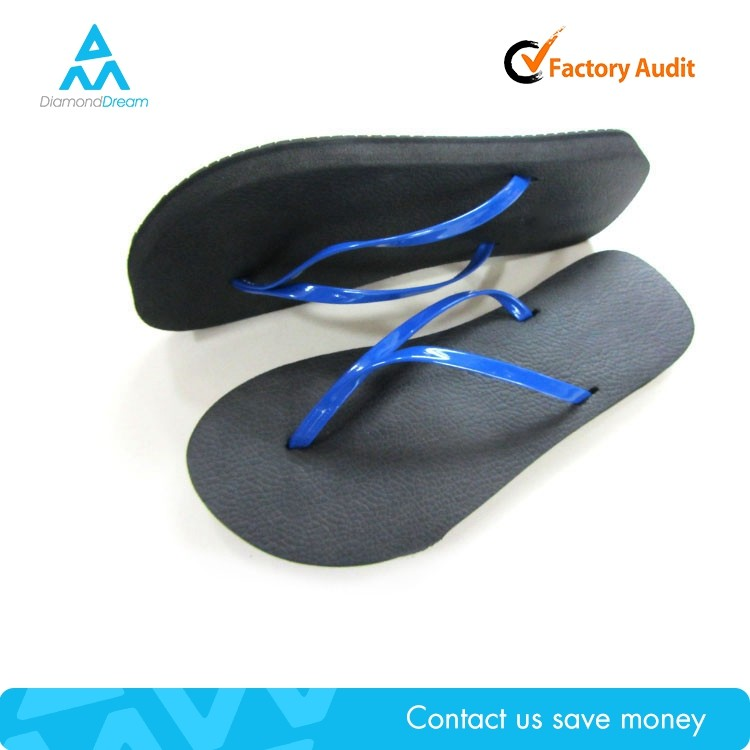 pu lady slipper design , cheap wholesale one dollar rubber flip flop china