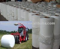white silage wrap film for agriculture ,bale wrap film