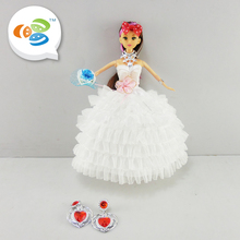 hot sale 11.5 inch funny game craft dolls to dress baby girls with low price