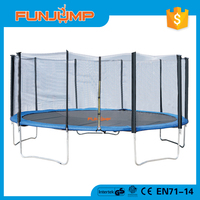 FUNJUMP 15FT cheap trampoline with enclosure net for sale