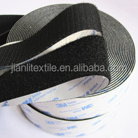 Adhesive hook and loop tape,hook loop magic fastener tape for garments