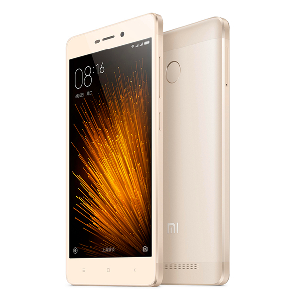 High Quality Redmi 3x 5.0 Inch Snapdragon 430 Octa Core IPS Fingerprint ID 5.0'' 4100mAh Battery 2GB Ram 32GB Rom Mobile Phone