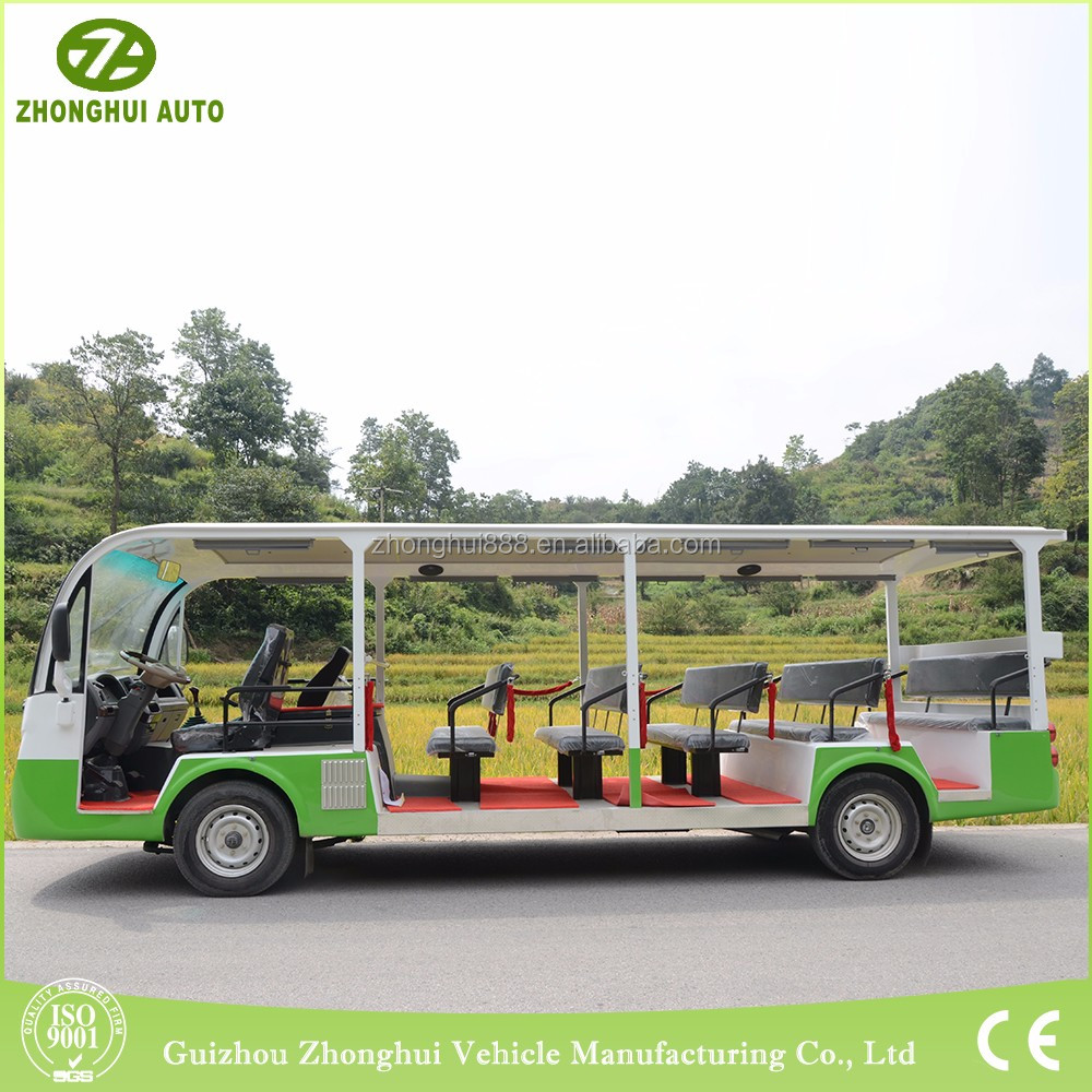23 seats customized electric tourist guide vehicle
