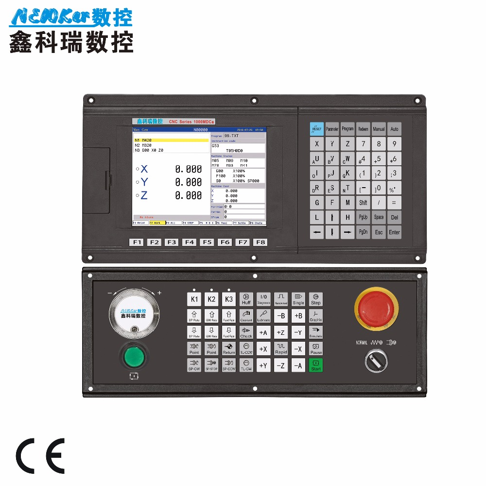 CNC controller NEW1000MDCa 3 axis Milling machining center