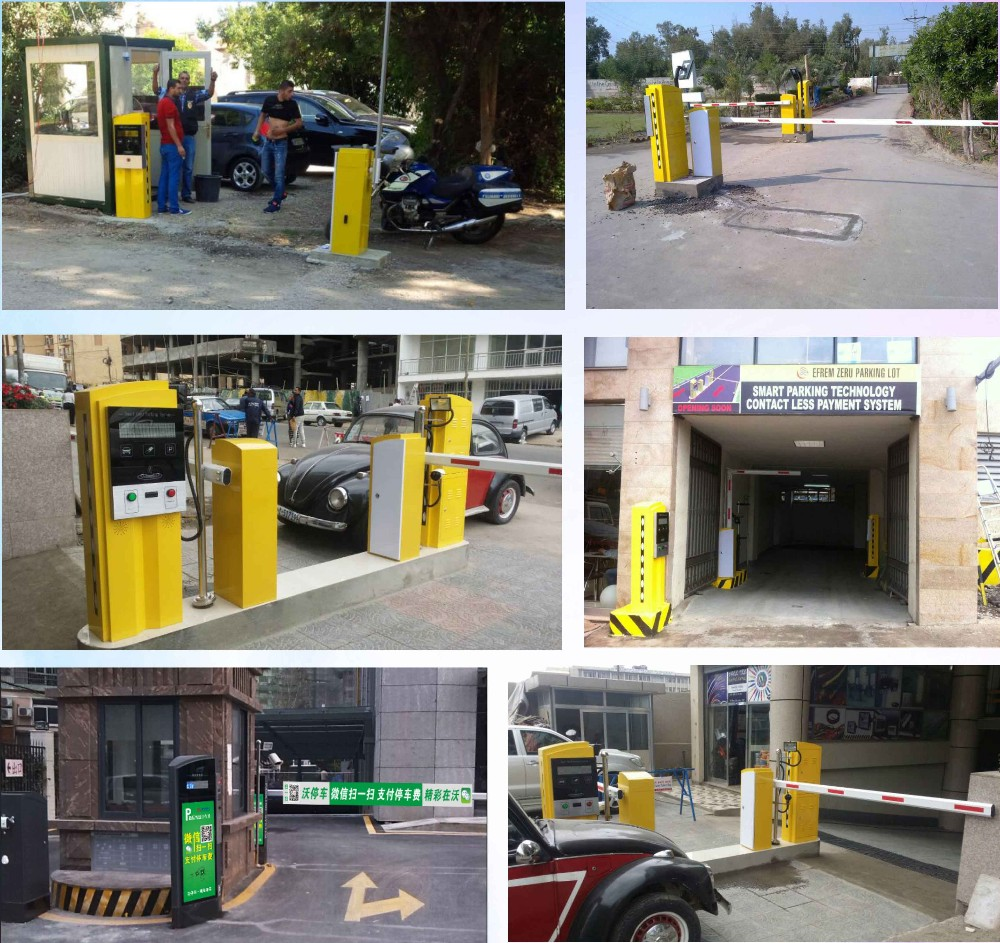 Smart RFID Card Auto Pay Machine Car Parking Management System
