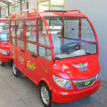 Thailand Market Energy Saving 4 Wheels Electric Tricycle For Passenger