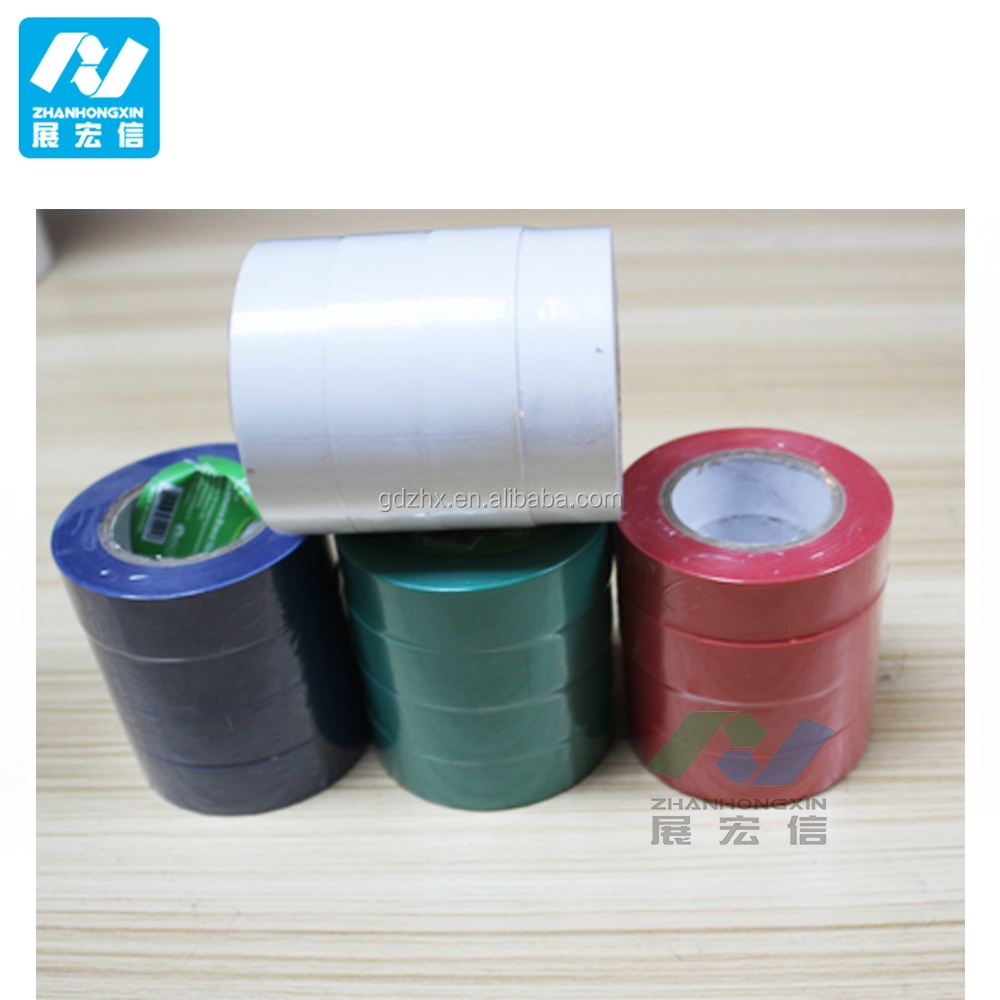2015 High Quality Low Voltage Heat-Resistant PVC Insulation Tape made in ZHX