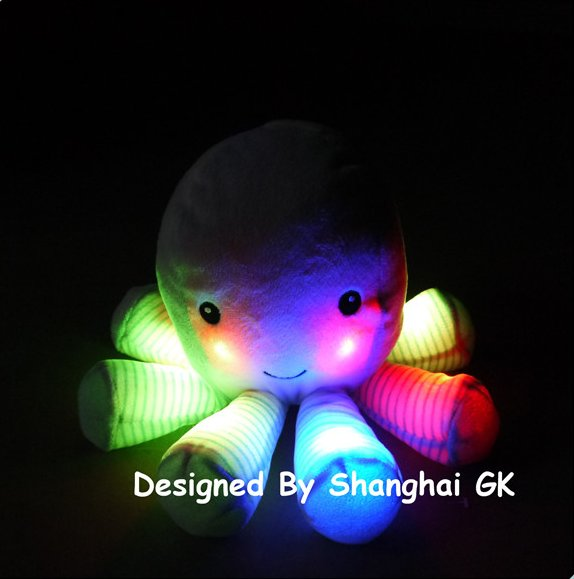 Safety and High Quality Octopus LED Plush Toys