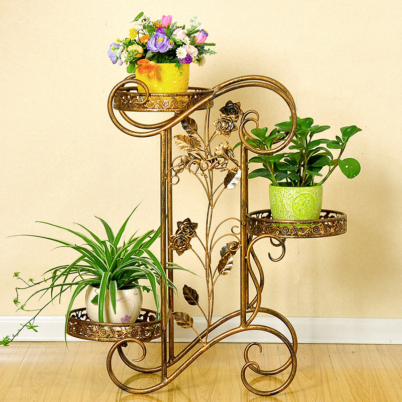 Iron Candle Stand Designs : Metal plant holder wrought iron stands flower