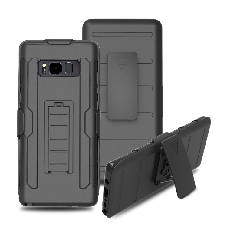 360 Full Protective 3 in 1 Cell Phone Robot Case for Samsung Galaxy Note 8 , For Galaxy Note 8 Armor Case