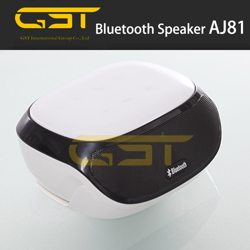aj81 Super Bass Stereo Mini Cheap Bluetooth Speaker with FM Radio