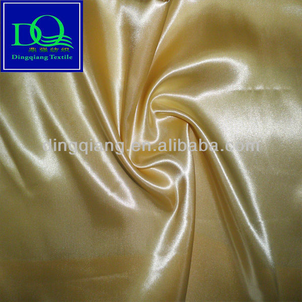 cheap 100% polyester satin fabric