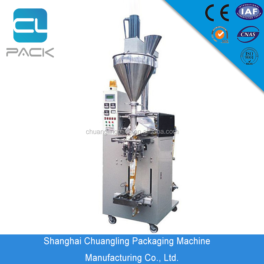 Tea Bag Large Volume Pillow Pack Vertical Form Fill Seal Packing Machine
