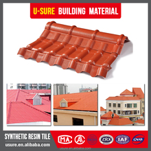 PVC composite Plastic material japanese style roof tiles