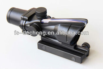 4x32 mil dot fiber hunting rifle scope
