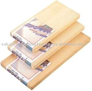 Wooden cutting board(Antibacterial treatment) S size
