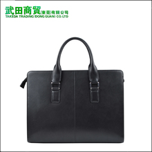 Men's real leather embossed leather bags