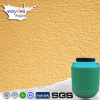 White textured drywall ceiling finishes rough wall paint