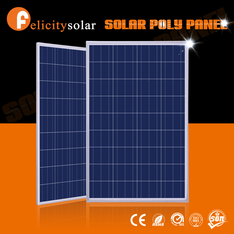 guangzhou felicity A-grade cell high efficiency poly 100w PV solar panel