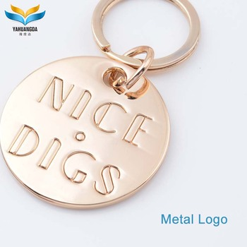 wholesale custom made zinc alloy metal logo charms