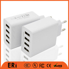 UK standard mobile phone universal wall charger big capacity charging station multiple usb dock travel charger