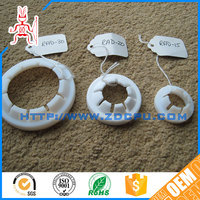 Fast delivery impact resistant self lubrication FDA nylon plastic gasket