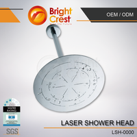 Ultra Thin Stainless Steel Bathroom Water Saving Shower Head
