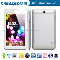 New design Created LTE 4G 7 inch Android tablet PC sex tablet
