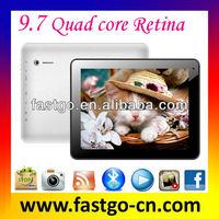 9.7 retina tablet 2G Bluetooth sky tablet pc made in china competitive price tablet pc