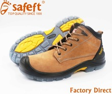 Engineering working steel toe leather special purpose industrial protective safty shoes in kuwait