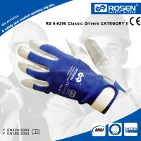 RS SAFETY Pig nappa leather palm hand gloves for construction work in soft Driver glove