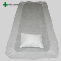 nonwoven disposable draw sheet plastic disposable bed sheet for hospital cheap colourful