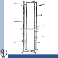 4-ways Garment Display Stand with 16 Arms Rack