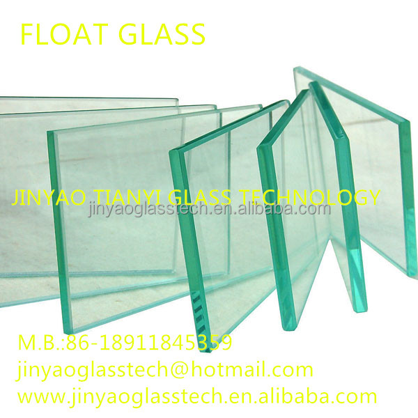 clear float glass price commercial building tempered safety glass