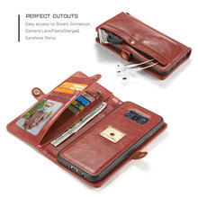 CaseMe For Apple iphone 7 wallet case high quality multifunction leather PU mobile phone case