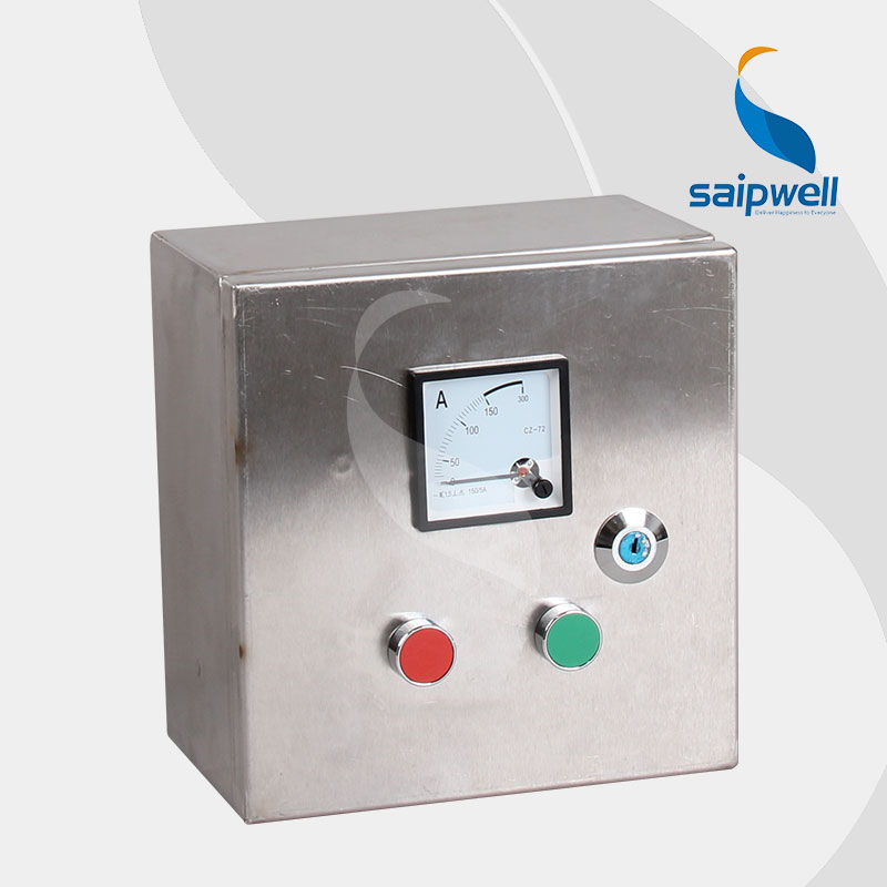 Saip Saipwell OEM ODM Project Use High Quality Hot Sale Control Box IP66 Waterproof Metal Control Box Electrical